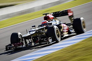 Formula 1 Breaking news Lotus only team to miss Jerez test