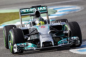 Formula 1 Testing report Mercedes AMG Petronas completed 97 laps during 2nd day at Jerez