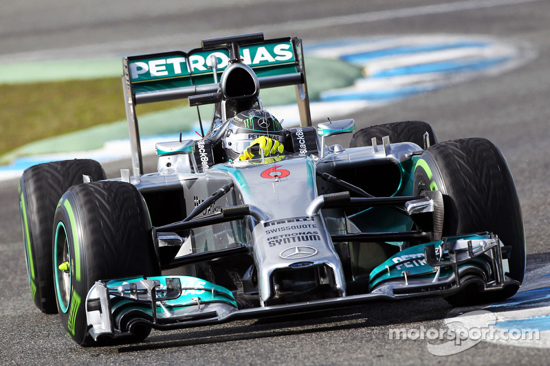 Mercedes AMG Petronas completed 97 laps during 2nd day at Jerez