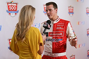NASCAR Cup Interview Travor Bayne: 'Daytona 500 was definitely the race win that changed my career.'