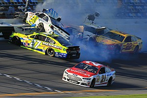 NASCAR Cup Interview Joey Logano talks about his involvement in the multi-car accident at Daytona