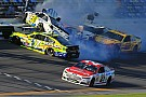Joey Logano talks about his involvement in the multi-car accident at Daytona
