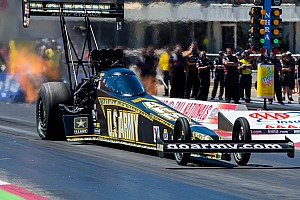 NHRA Qualifying report Schumacher and Johnson Jr. saved their best qualifying effort at Phoenix