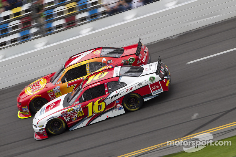 Ryan Reed battles for 18th in Daytona