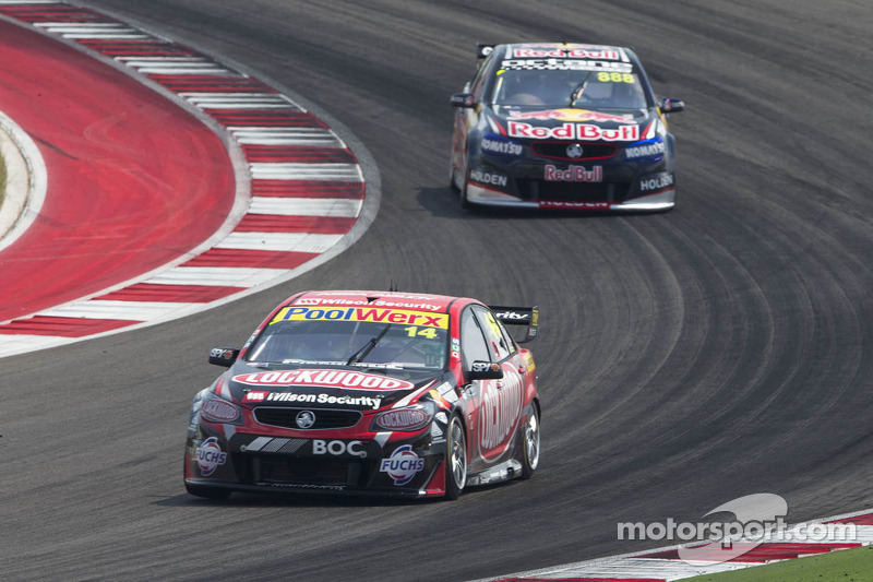 Clean and trouble free for Coulthard at Adelaide