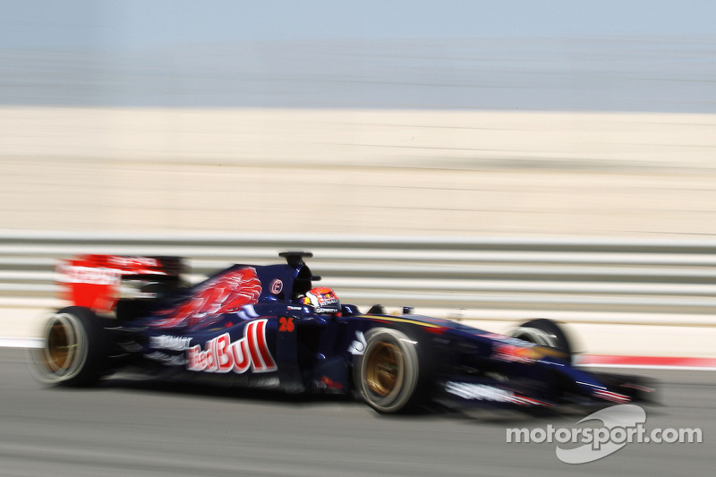 Toro Rosso has the best pre-season day test so far this winter at Bahrain
