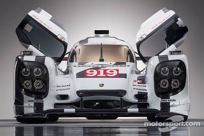 Could this be the new Porsche 919 Hybrid livery?