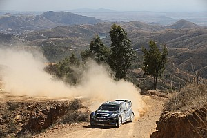 WRC Stage report Evans on course for career best in Mexico