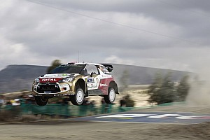 WRC Race report Points for Mads Østberg and Citroën at Rally Mexico