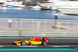 FIA F2 Testing report Stefano Coletti and Raffaele Marciello complete three days of testing in Abu Dhabi