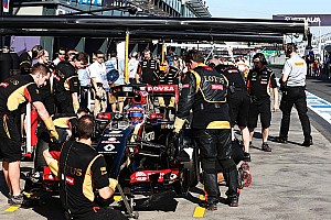Formula 1 Practice report Frustrating first day at Albert Park for Lotus