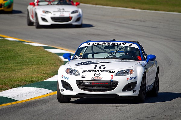 Hometown hero dean takes Mazda MX-5 Cup Round Two at Sebring