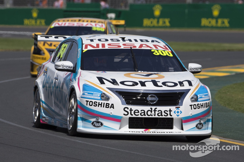 Michael Caruso takes Nissan Motorsport's first podium for 2014