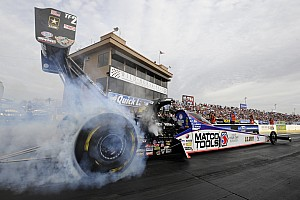 NHRA Race report Brown drives Matco Tools Top Fuel team to second final round in three Mello Yello events