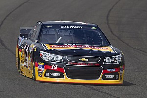 NASCAR Cup Race report Stewart scores second straight top-five in Fontana