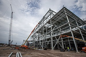 NASCAR Breaking news Florida governor tours Daytona construction