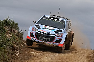 WRC Race report Hyundai Shell World Rally Team finds positives after challenging Rally de Portugal