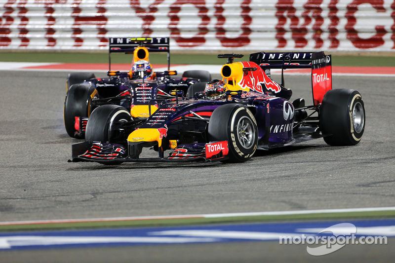 Ricciardo better than Webber 'not fair' - Vettel