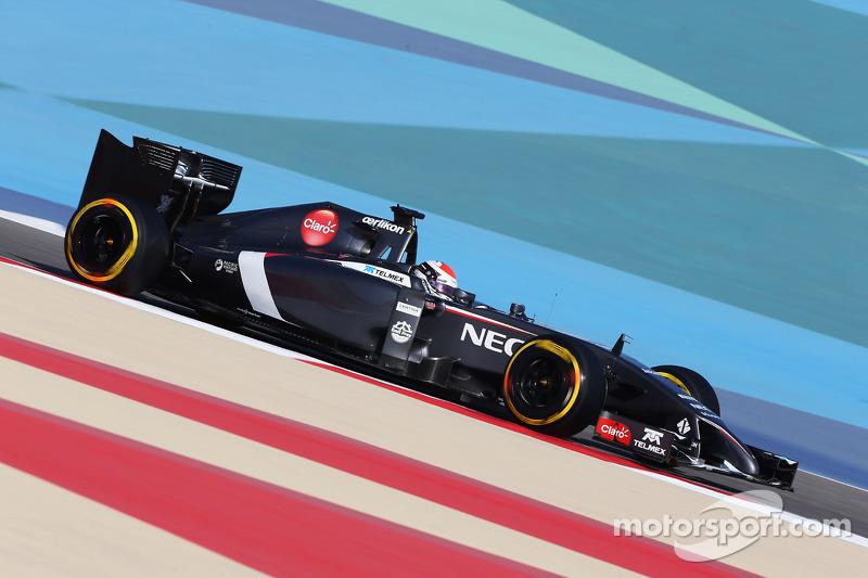 Day one of Bahrain testing - Sauber