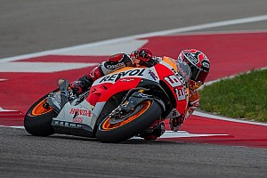 MotoGP Practice report Marquez on record pace in Friday Practice at Austin