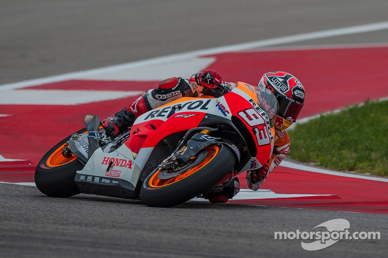 Marquez on record pace in Friday Practice at Austin