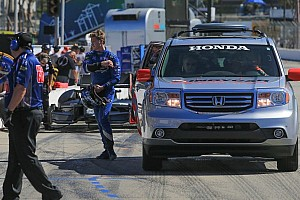 IndyCar Race report Promising day ends early for Rising Star Racing's Newgarden