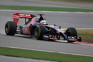 Formula 1 Qualifying report P9 and P13 for Toro Rosso in wet qyalifying at Shanghai