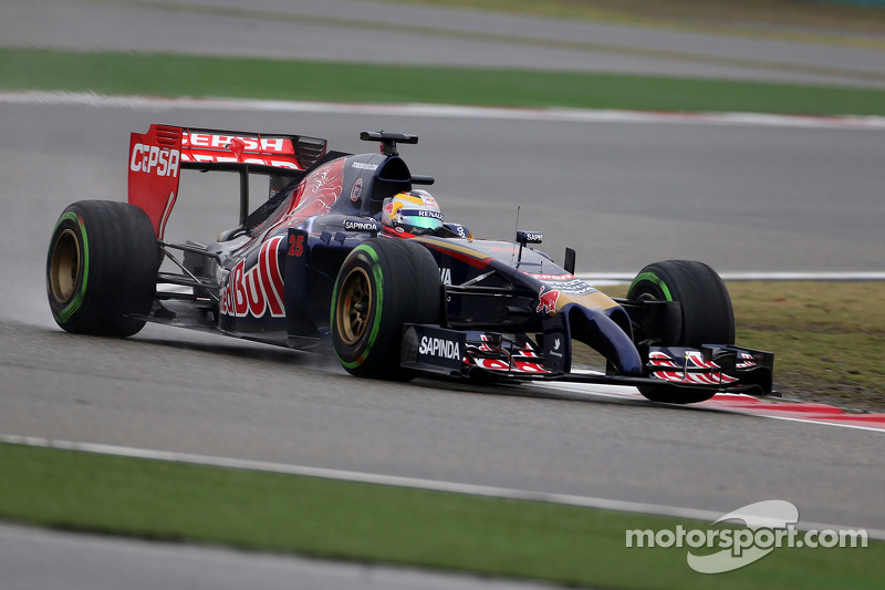 P9 and P13 for Toro Rosso in wet qyalifying at Shanghai