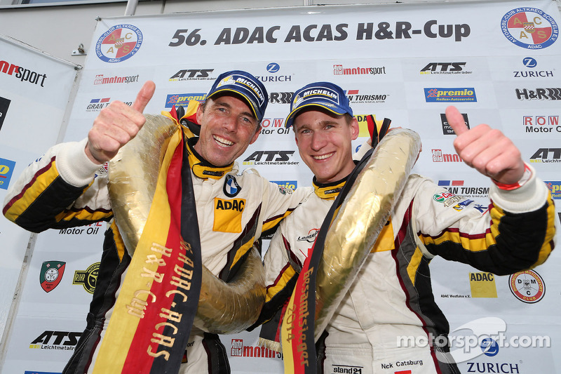 BMW Sports Trophy Team Marc VDS wins on the Nordschleife
