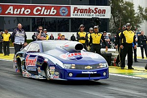 NHRA Qualifying report Jason Line to start from top half in Houston title defense