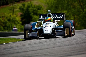 IndyCar Race report 14th place finish for Conway at Barber