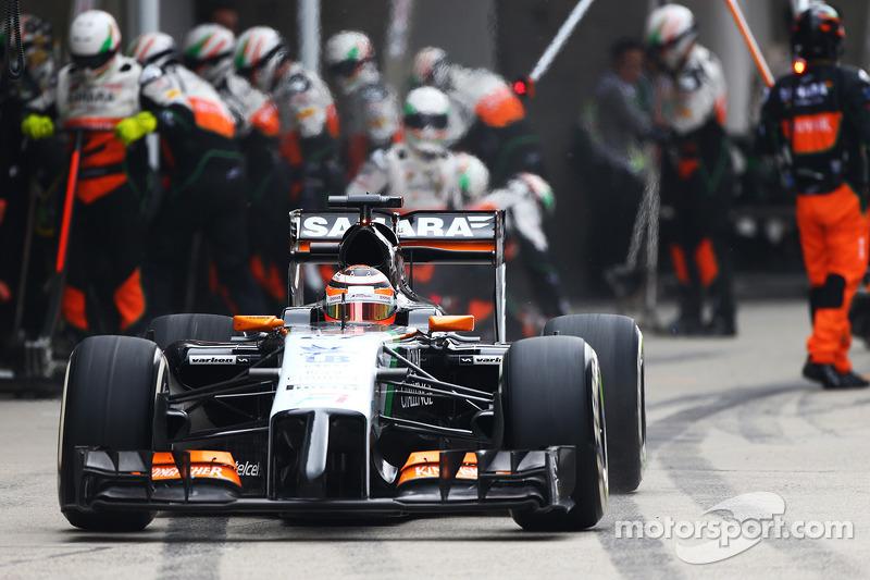 Mallya adds 'Smirnoff' to Force India livery