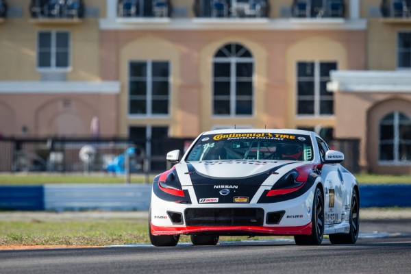 Doran Racing's Nissans to start tenth and 14th in very tight field at Laguna Seca