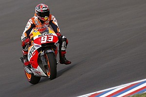 MotoGP Qualifying report Bridgestone: Marquez claims pole position and new lap record in scorching conditions at Jerez