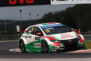 WTCC Qualifying report Honda Civics set top 5 times for Hungaroring WTCC thriller