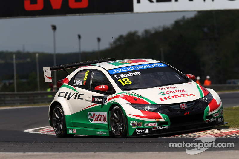 Honda Civics set top 5 times for Hungaroring WTCC thriller