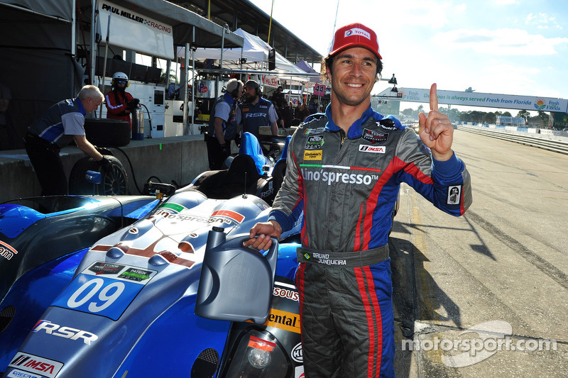 Bruno Junqueira takes second straight Prototype Challenge pole for RSR Racing