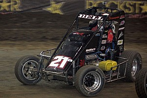 USAC Preview Midget drivers lining up for Belleville Bash