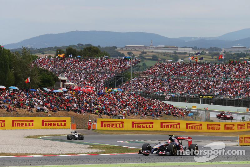 Lack of pace ruins Toro Rosso race in Spain