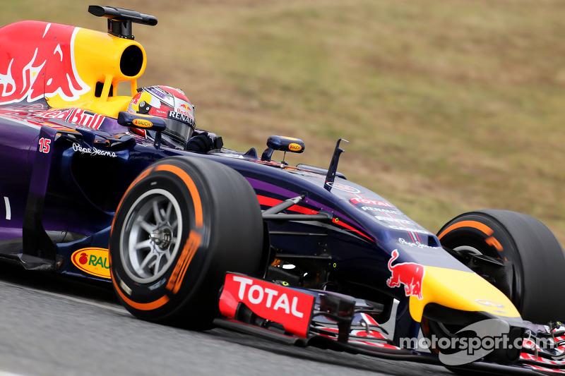 Barcelona test - Day 1 - Infiniti Red Bull Racing