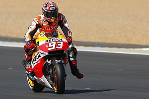 MotoGP Qualifying report Marquez secures dream fifth consecutive MotoGP pole position in typical style at Le Mans