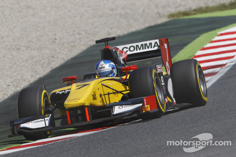 GP2 leader Palmer aims to extend title advantage in Monaco