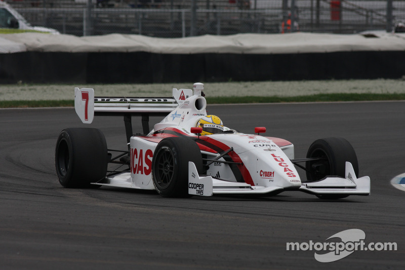 Razia to lead field to green flag in Freedom 100 at Indianapolis