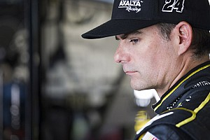 NASCAR Cup Commentary Back spasms knock Jeff Gordon out of Happy Hour