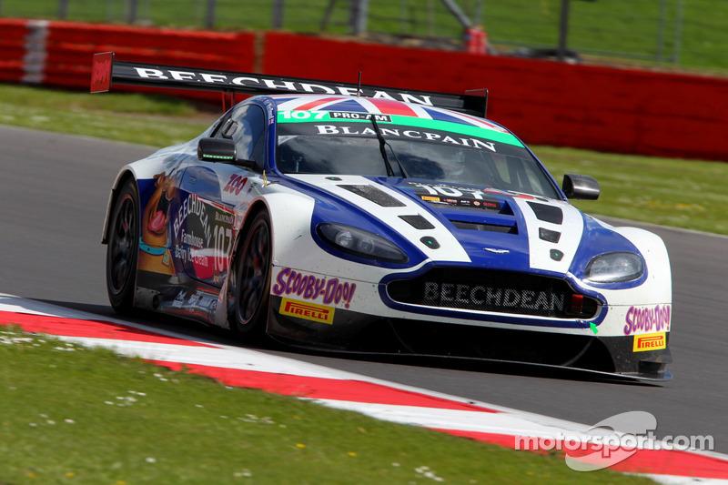 Endurance rookie Lloyd stars on Aston Martin bow at Silverstone