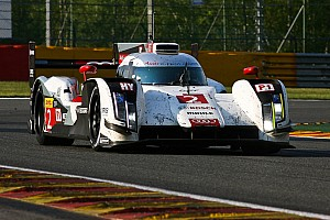 Le Mans Preview Audi R18 e-tron quattro ready for official test day at Le Mans