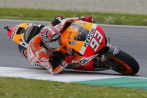 MotoGP Practice report Rain affects first day of free practice in Mugello