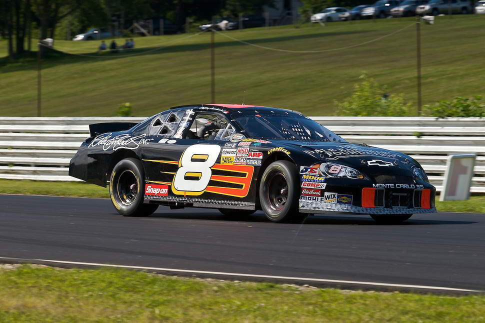 NASCAR Nationwide Series driver Jeffrey Earnhardt races for the Austin Hatcher Foundation