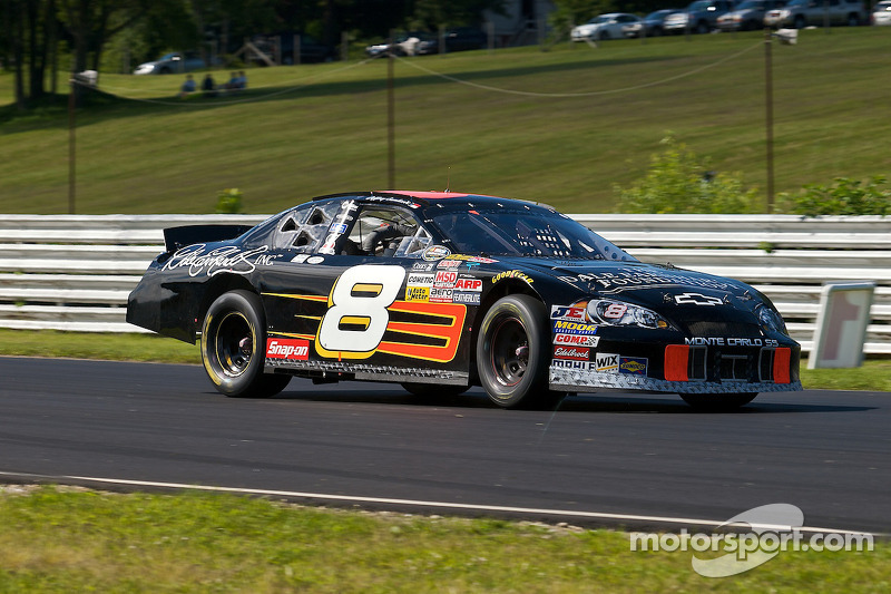 NASCAR Nationwide Series driver Jeffrey Earnhardt races for the Austin Hatcher Foundation