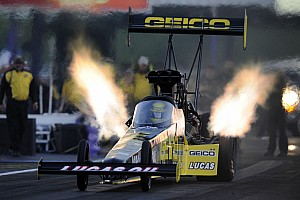 NHRA Race report Australia's Richie Crampton earns first career NHRA Top Fuel win at Englishtown